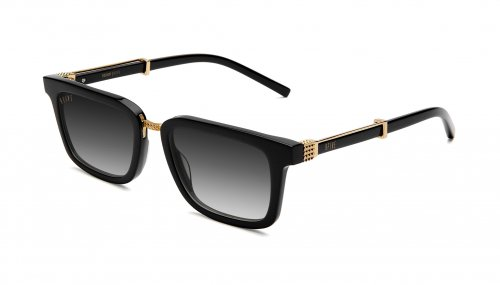 <img class='new_mark_img1' src='https://img.shop-pro.jp/img/new/icons5.gif' style='border:none;display:inline;margin:0px;padding:0px;width:auto;' />9five BISHOP Black & 24k Gold Gradient Sunglasses ビショップ / ブラック&24Kゴールド / グラデーション / ナインファイブ