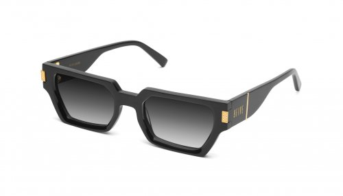 <img class='new_mark_img1' src='https://img.shop-pro.jp/img/new/icons5.gif' style='border:none;display:inline;margin:0px;padding:0px;width:auto;' />9five LOCKS Black & 24k Gold Gradation Sunglasses ロックス  / ブラック&24Kゴールド / グラデーションサングラス / ナインファイブ