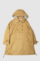 <img class='new_mark_img1' src='https://img.shop-pro.jp/img/new/icons20.gif' style='border:none;display:inline;margin:0px;padding:0px;width:auto;' />POURTON DE MOI PULLOVER TRENCH【Camel Beige】