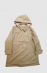POURTON DE MOI PULLOVER TRENCH【Light Beige】