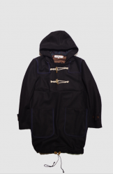 <img class='new_mark_img1' src='https://img.shop-pro.jp/img/new/icons20.gif' style='border:none;display:inline;margin:0px;padding:0px;width:auto;' />POURTON DE MOI PULLOVER DUFFLE【Navy】
