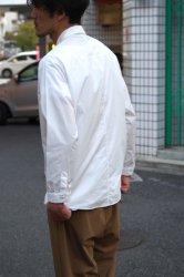 NO CONTROL AIR 60/-コンパクトコットンライトタイプライターシャツ【White】