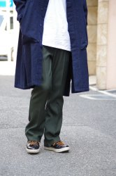 RICE NINE TEN STA-PREST BOOT CUT PANTS【D.Green】