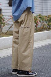 RICE NINE TEN WORKER'S WIDE PANTS【Beige】