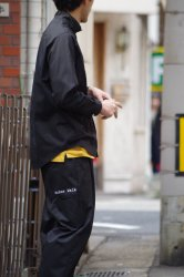 RICE NINE TEN WORKER'S WIDE PANTS【Black】