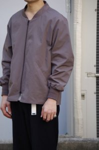LAMOND OVER BLOUSON【Maroon Gray】