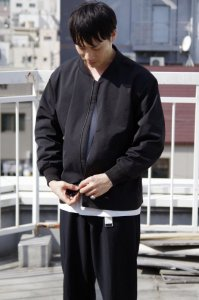 LAMOND OVER BLOUSON【Black】