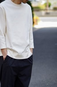LAMOND BASQUE 7部袖T-SHIRT 【White】