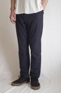 LAMOND ACTION SLACKS【Navy】