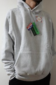 CAMBER【キャンバー】 CROSS KNIT PULLOVER HOODED【GRAY】