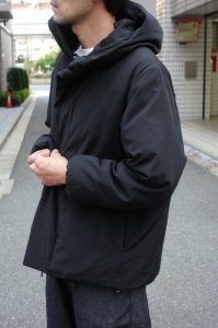 LAMOND【ラモンド】 N/C SHIBO DOWN PARKA【BLACK】
