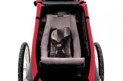 【即納】スーリー・チャリオット・幼児用快適リクライニングシート<Thule Infant Sling>★生後一ヶ月から6ヶ月(目安:身長75cm、体重10kg)くらいまで使えます。【画像2】