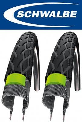 【即納・2本セット】耐パンク・高耐久SCHWALBE シュワルベ MARATHON マラソン 20×1.75 BURLEY, Chariot20インチタイヤの交換のぜひどうぞ。