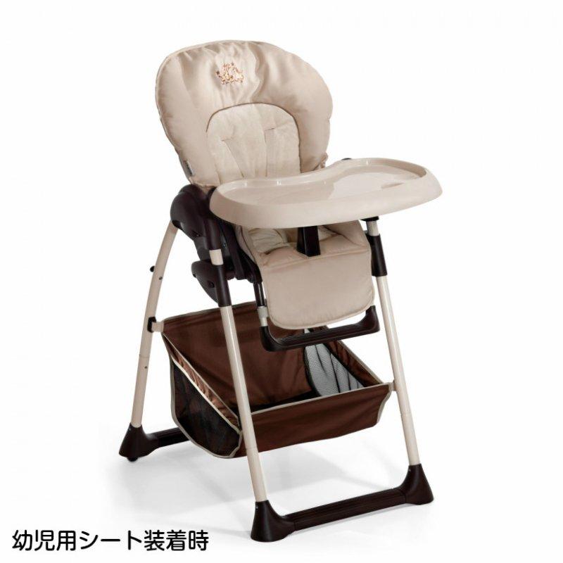 【1月10日入荷】ドイツの名門ハウク・シッティン・リラックス<HAUCK Sit'n Relax>多機能ハイローチェア 新生児から体重15 kg シート2モード カラー:ZOO【画像4】