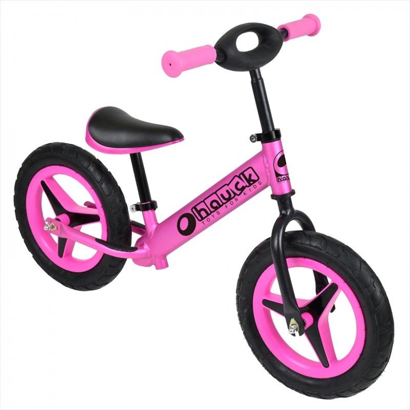 【即納】ドイツの名門ハウク・アル・ライダー<Hauck Alu Rider 12>本格アルミフレーム XLポスト付きで永く乗れる ラバープロファイル・ノーパンクタイヤ カラー:ピンク【画像2】