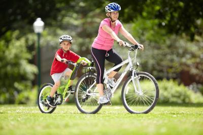 【一週間レンタル】Burley Piccolo Trailer Cycle祭事や自転車レースのイベントに。子供自転車教室に(返信送料お客様負担)【画像3】