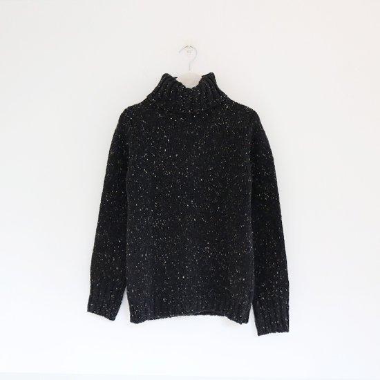 Fisherman<br>ポロネックセーター<br>Black