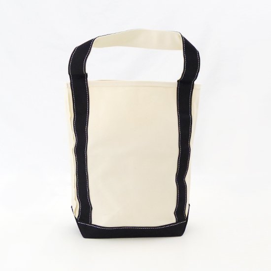 Tembea<br/>Baguette Tote<br/>Natural×Black