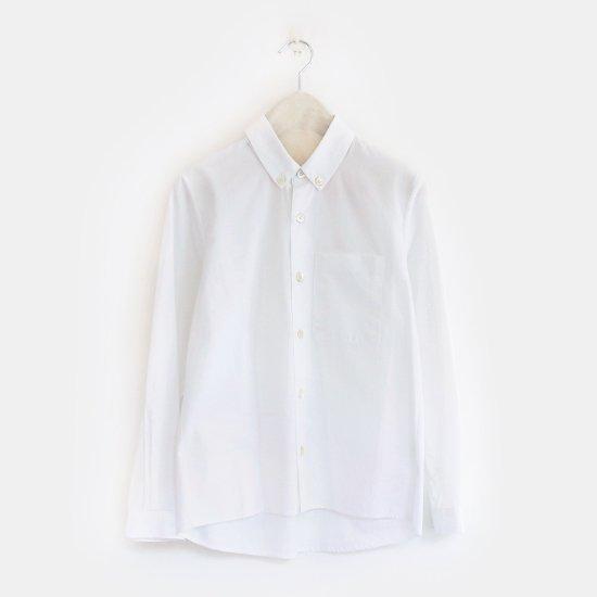 Charpentier de Vaisseau<br>ボタンダウンシャツ<br>〈 Stanley 〉<br>White