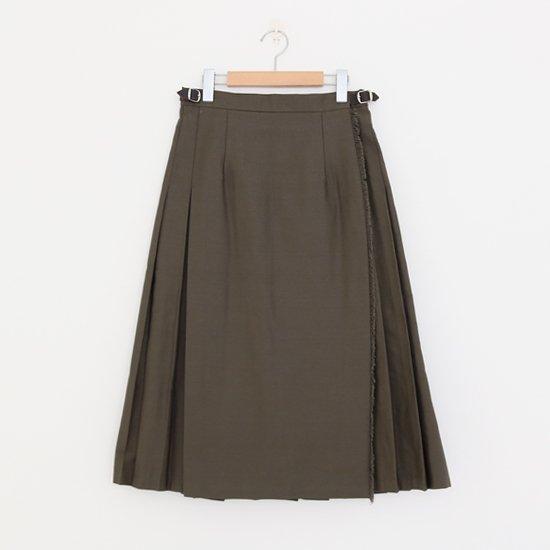 Charpentier de Vaisseau<br>コットンラップスカート<br>〈 Bianca 〉<br>Olive