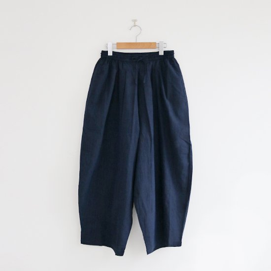 Khadi and Co.<br/>Cotton Wide Pants〈 STAR 〉<br/>Dark Indigo
