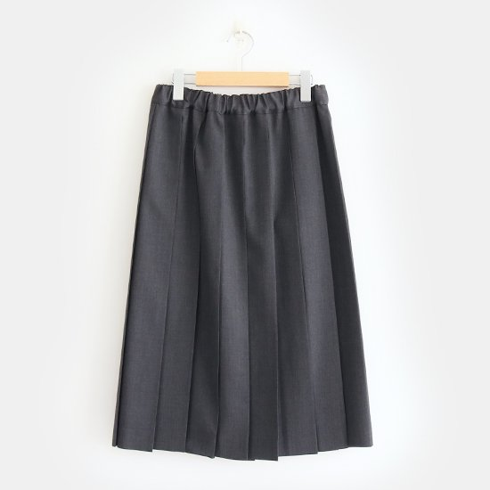 Charpentier de Vaisseau<br>サマーウールプリーツスカート<br>〈 Belle 〉<br>Grey