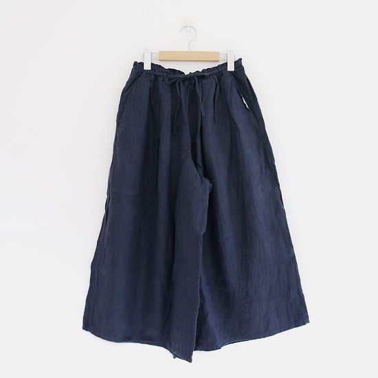 style+confort <br/>Linen Culottes<br>Navy