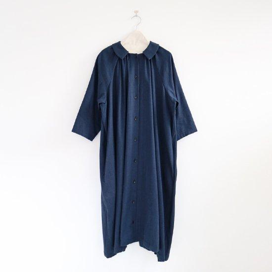 Atelier d'antan | ギャザーワンピース〈 Aimee 〉Blue | A232172TD300
