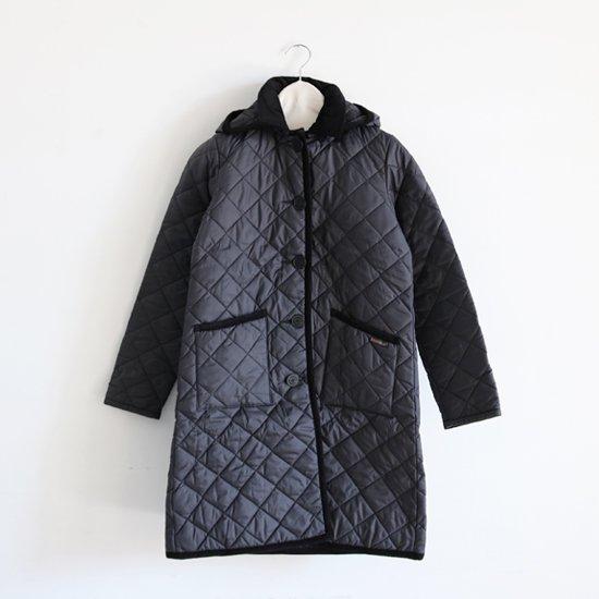 Lavenham | キルティングフードコート〈 Grinstead 〉Black | F008172TJ051