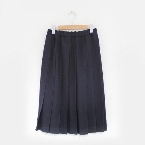 Charpentier de Vaisseau | ウールプリーツスカート〈 Belle 〉Navy | C003162PS087