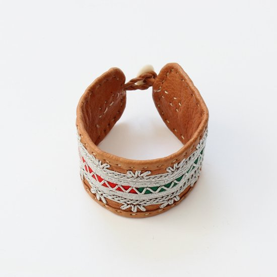 Maria Rudman <br/>Leather Bracelet<br>Multi