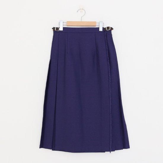 Charpentier de Vaisseau<br>コットンラップスカート<br>〈 Bianca 〉<br>Navy