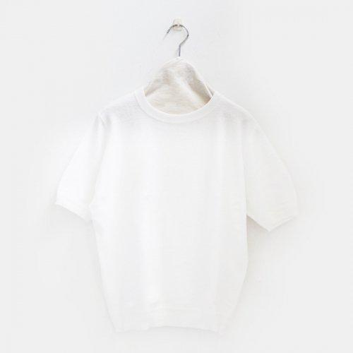 Yaeca | コットンリンキングニット Men's White | F052171TT015