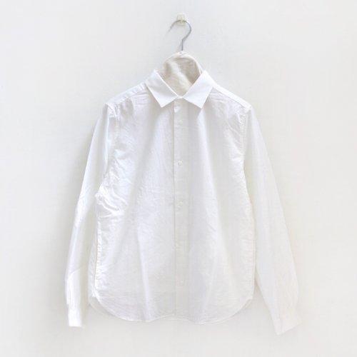 Yaeca Women<br>コットンコンフォートシャツ<br>White