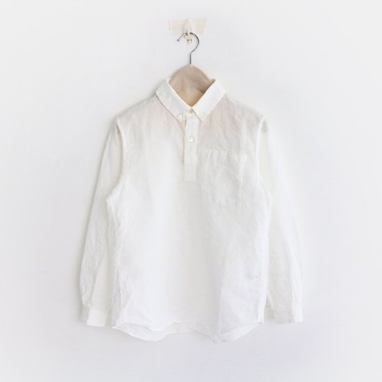 Charpentier de Vaisseau<br>リネンプルオーバーシャツ<br>〈 Steve 〉<br>White
