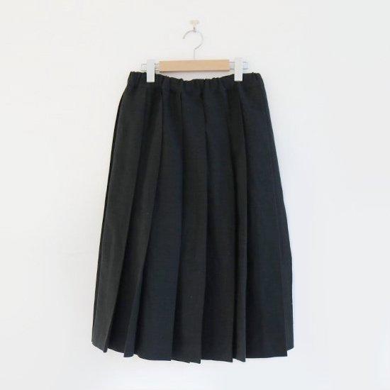 Charpentier de Vaisseau | サマーウールプリーツスカート〈 Belle 〉Black | 003191PS319