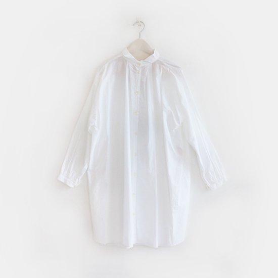 Gallego Desportes<br>タックロングシャツ<br>White