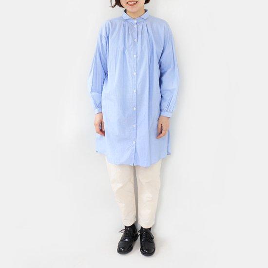 Gallego Desportes<br/>タックロングシャツ<br/>Light Blue