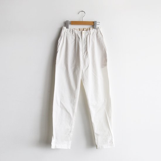 ゴーシュ <br/> Katsuragi Tapered Pants / White
