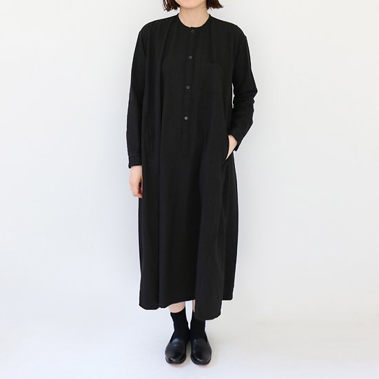 ゴーシュ <br/> India Duck One-piece / Black