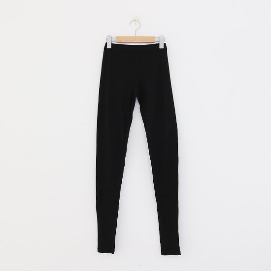 ゴーシュ <br/> Cotton Cashmere Leggings / Black