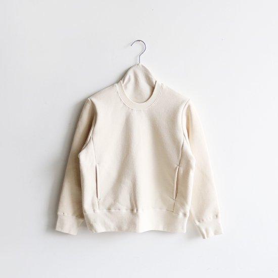 Atelier d'antan | クルーネックスウェット〈 Krull 〉Natural | A232192TT396