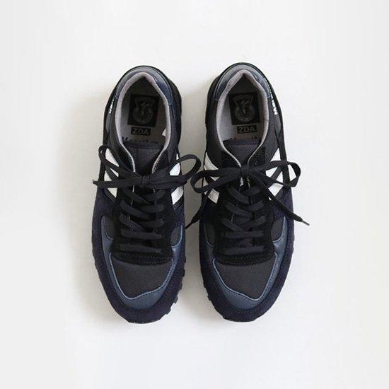 ZDA<br>マラソンシューズ<br>Black×Navy
