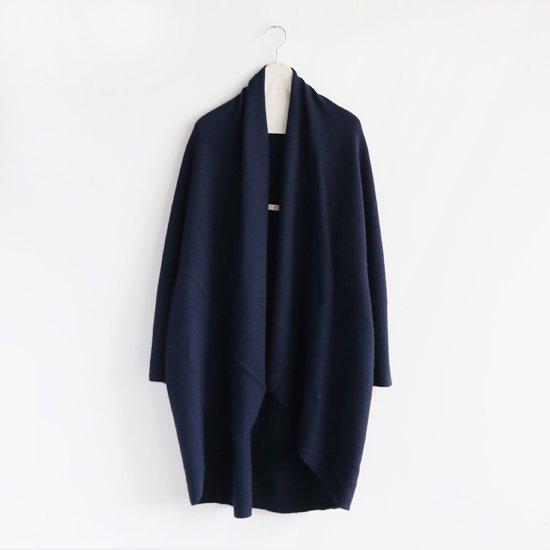 糸衣<br>カシミヤローブ<br>〈 Fuji 〉<br>Navy