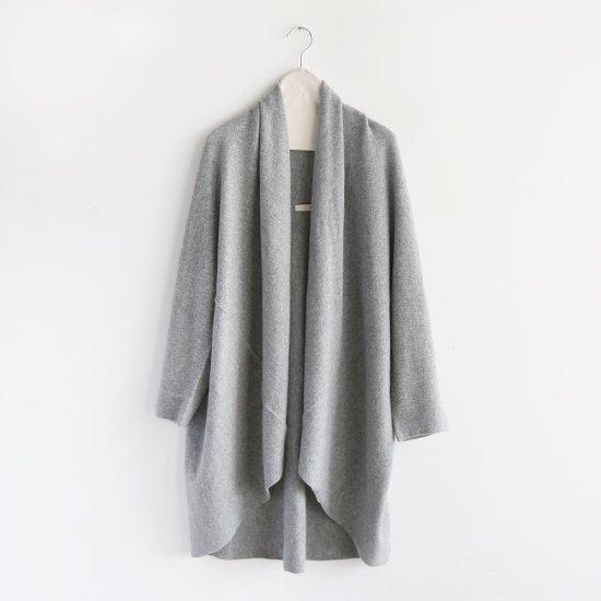 糸衣<br>カシミヤローブ<br>〈 Fuji 〉<br>Grey