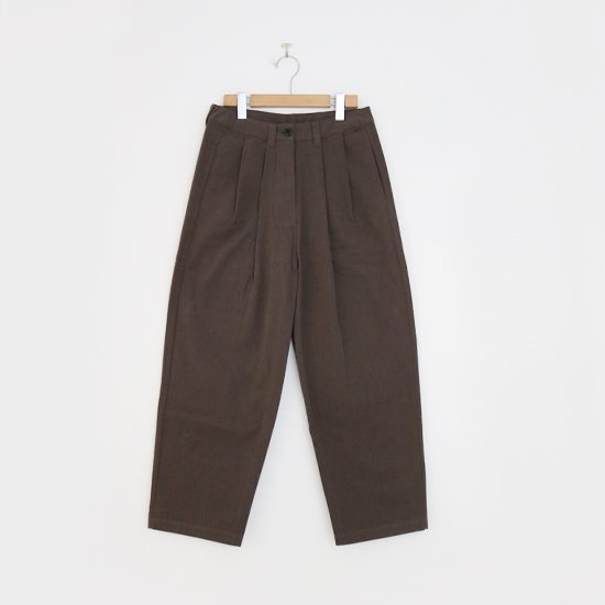 <img class='new_mark_img1' src='//img.shop-pro.jp/img/new/icons3.gif' style='border:none;display:inline;margin:0px;padding:0px;width:auto;' />Lin Francais D'antan <BR>Cotton Pants〈 Mor 〉<BR> Grey