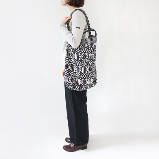 Antonello Tedde<BR>Tote Bag 〈 Bultei 〉<BR>Black