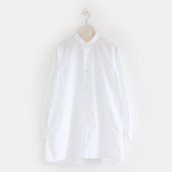Charpentier de Vaisseau<br>コットンロングシャツ<br>〈 Shella 〉<br>White