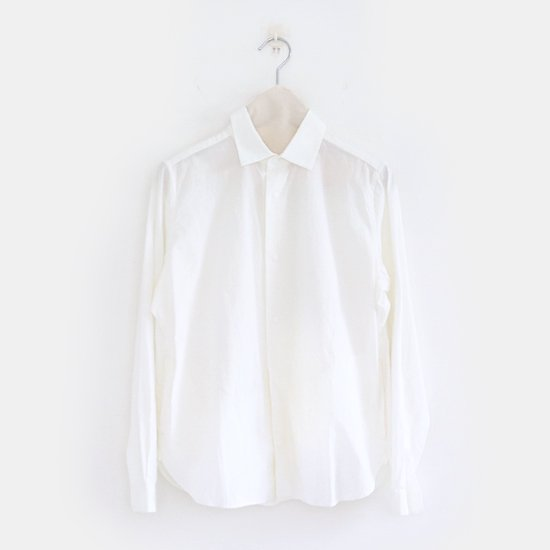 Yaeca Men<br>コットンコンフォートシャツ<br>White
