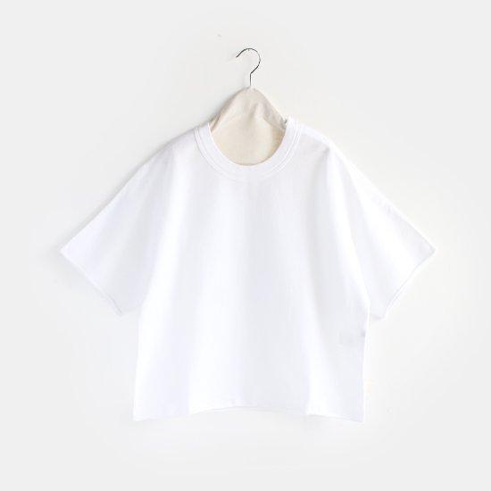 Boboutic<br>コットンニットTシャツ<br>White